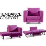 fauteuil bz 1 place. Black Bedroom Furniture Sets. Home Design Ideas